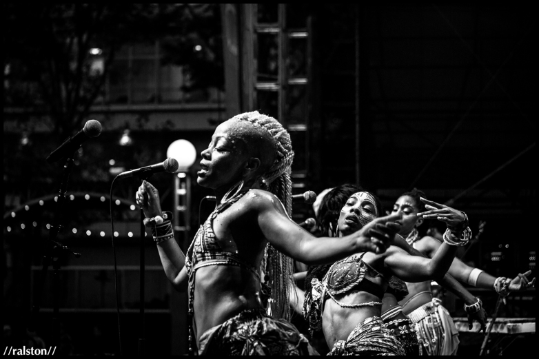 {the queens // chop and quench // lincoln center outdoors, nyc}