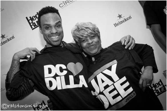 "dc loves dilla w/ bilal + ms. yancey, aka ""ma dukes"" {washington, dc}"