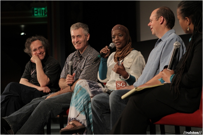 silverdocs screening of 'the interrupters' w/ filmmakers gordon quinn & steve james + documentary subject aminah matthews