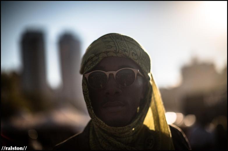 {'staring at the sun' series // afropunk 2016} @ralstonsmith