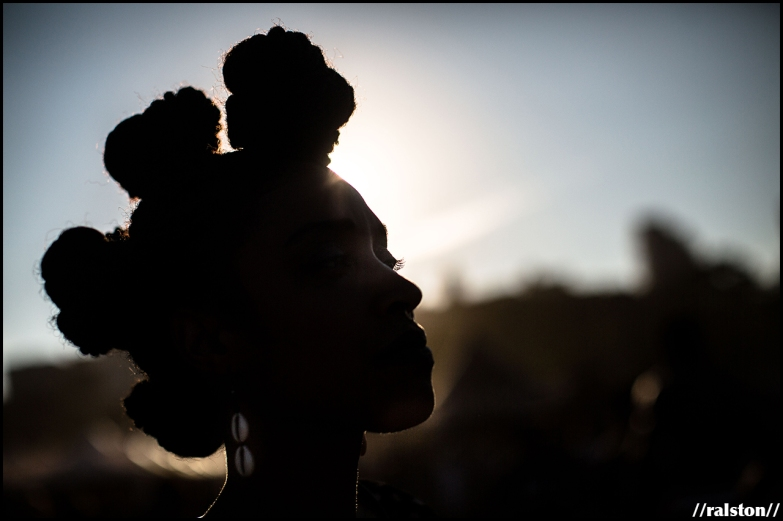 {'staring at the sun' series // afropunk 2016}